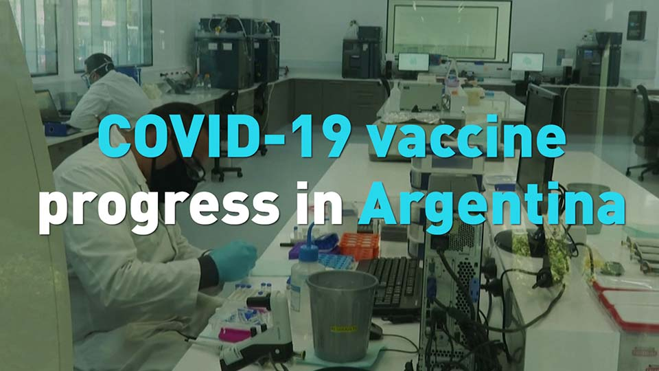 Covid 19 Vaccine Progress In Argentina Cgtn