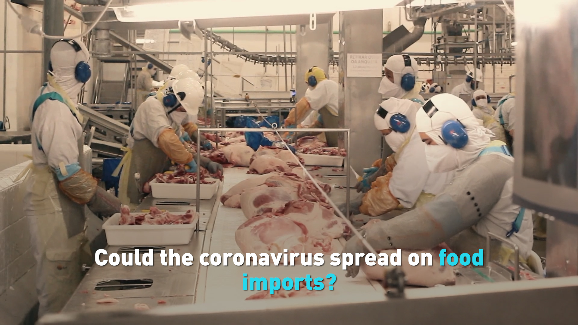 Concerns grow over risks of Coronavirus spreading on Food Imports