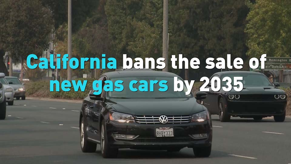 California Bans The Sale Of New Gas Cars By 2035 Cgtn