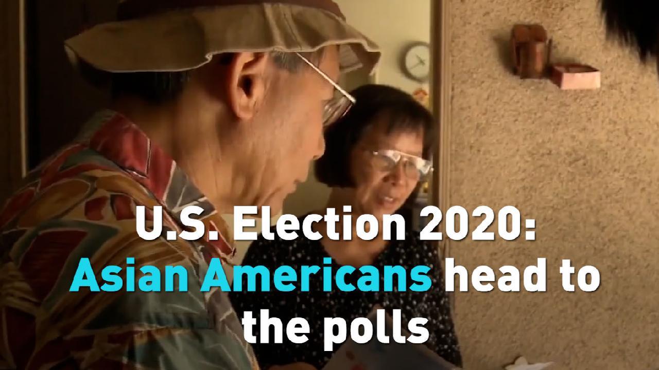 newsus.cgtn.com: U.S. Election 2020: Asian Americans head to the polls
