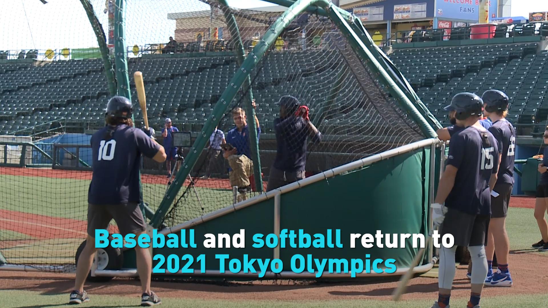 Baseball and softball return to 2021 Tokyo Olympics - CGTN